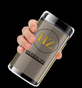 Drinking HerbalZilla Herbalife Shakes
